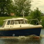Das Harber Motorboot