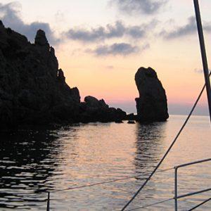 Elba vor Anker