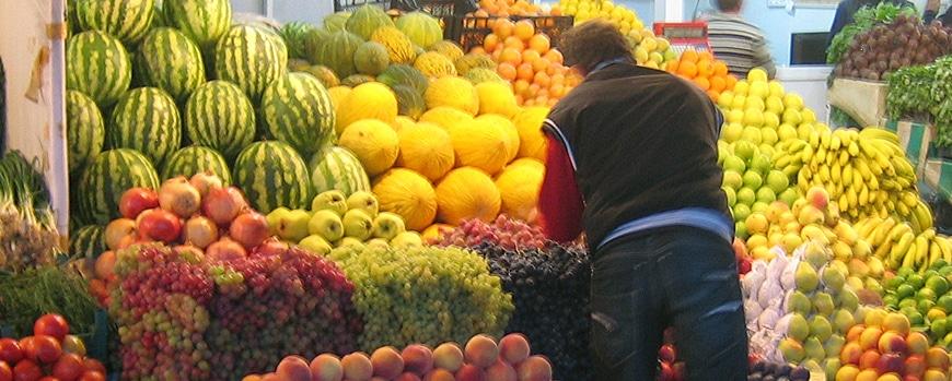 Früchte in der Türkei