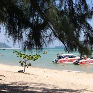 Strand in Thailand auf Segeltörn