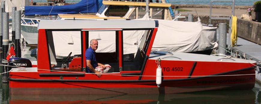 Bootsprüfung in Kreuzlingen Bottighofen