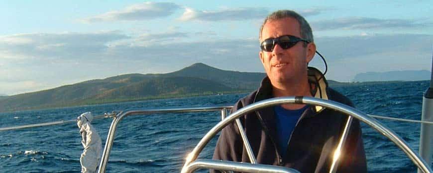 Segel und Motorboot Törn